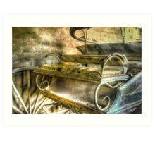When the limo breaks down ... Monte Cristo ~ Junee NSW Art Print