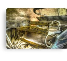 When the limo breaks down ... Monte Cristo ~ Junee NSW Canvas Print