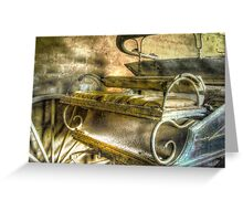 When the limo breaks down ... Monte Cristo ~ Junee NSW Greeting Card