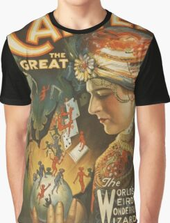 Vintage poster - Carter the Great Graphic T-Shirt