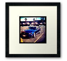 Mustang in Vegas Framed Print