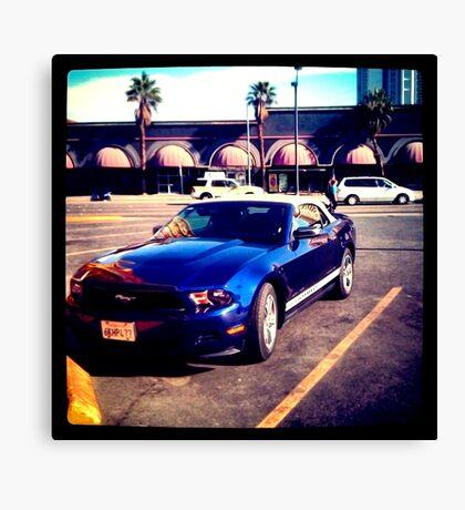 Mustang in Vegas Canvas Print