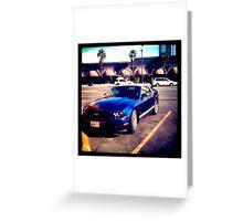Mustang in Vegas Greeting Card