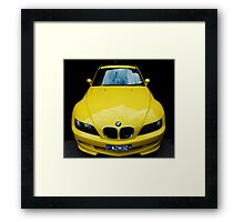 Morning sunshine! BMW M3 Framed Print
