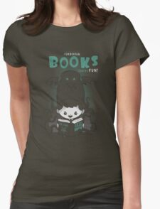 Forbidden Books can be Fun Womens Fitted T-Shirt