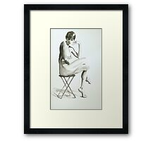 Scandal Eyes Framed Print
