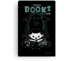 Forbidden Books can be Fun Canvas Print