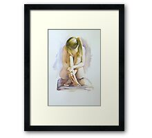 Secret Life Framed Print