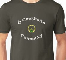 Connolly Surname - Dark Shirts with Claddagh Unisex T-Shirt