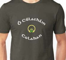 Colahan Surname - Dark Shirts with Claddagh Unisex T-Shirt