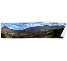 Andes Mountains Panorama Poster
