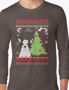 French Bulldog Ugly Christmas Sweater T-Shirt
