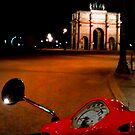 The Carousel red Vespa  by Christophe Claudel