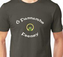 Feeney Surname - Dark Shirts with Claddagh Unisex T-Shirt
