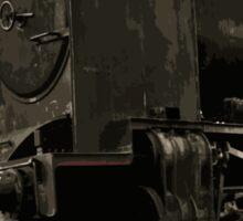 Pulling The train Sticker
