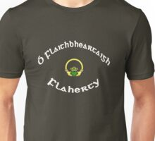 Flaherty Surname - Dark Shirts with Claddagh Unisex T-Shirt
