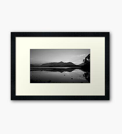 Cat Bells, Lake District National Park. Framed Print