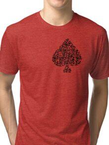 QR Poker Tri-blend T-Shirt