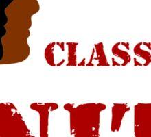 RACE WAR / CLASS WAR - UNITE (dark) Sticker