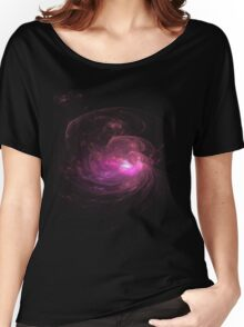 Apophysis Fractal Design - Pink Flower Women's Relaxed Fit T-Shirt