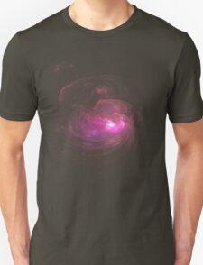Apophysis Fractal Design - Pink Flower Unisex T-Shirt