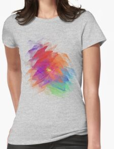 Apophysis Fractal Design - Enhanced Rainbow Flower  T-Shirt