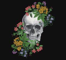 flower skull by Federica Cacciavillani