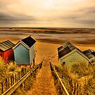 Wells next the Sea Beach by Norfolkimages