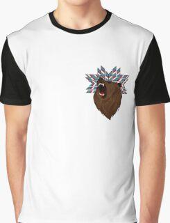 Native Bear Graphic T-Shirt