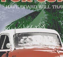retro surf Sticker