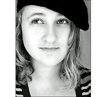La Jeune Fille Aux Cheveux Blancs Photographic Print