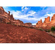 Park Avenue at Arches Photographic Print