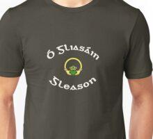 Gleason Surname - Dark Shirts with Claddagh Unisex T-Shirt