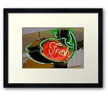 Fresh from the Market Framed Print