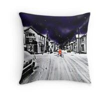 Rosslare, Co. Wexford, Ireland Throw Pillow