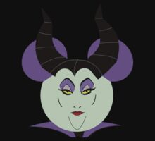 Maleficent Sleeping Beauty Mickey Head by sweetsisters