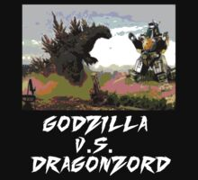 GODZILLA VS DRAGONZORD by YouKnowThatGuy