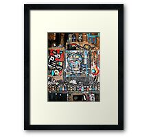 bruxo, progress on easel Framed Print