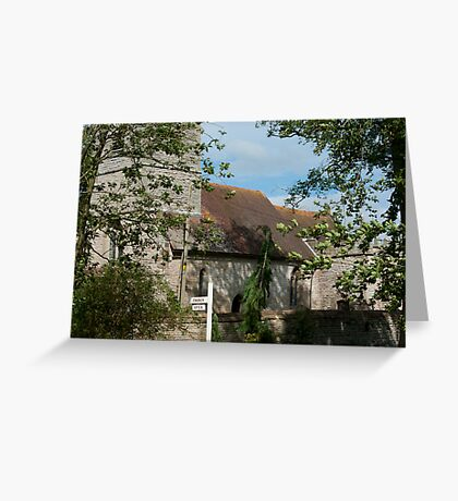 Estate Church Greeting Card