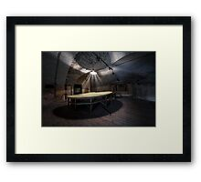 Headquaters Framed Print