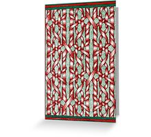Holiday Ribbon Greeting Card