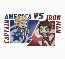 Captain america VS Iron man by Annaka
