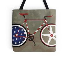 I Love My American  Bike Tote Bag