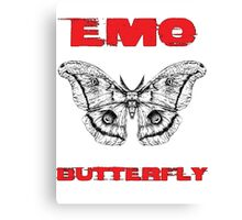 Emo Butterfly Canvas Print
