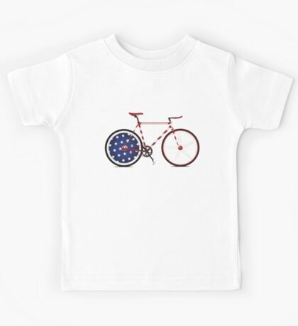 I Love My American  Bike Kids Clothes