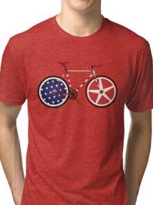 I Love My American  Bike Tri-blend T-Shirt