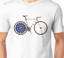I Love My American  Bike Unisex T-Shirt