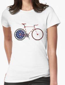 I Love My American  Bike Womens Fitted T-Shirt