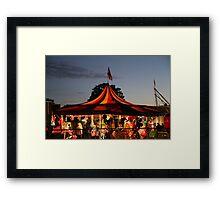 Carnival Tent Framed Print