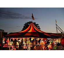 Carnival Tent Photographic Print